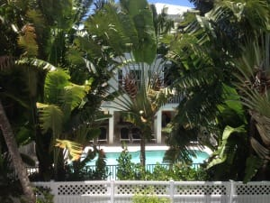 Happy Daze, Back of Home & Pool, Captiva Vacation Rentals.