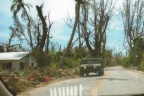 Hurricane Irma, Sanibel & Captiva, Hurricane Charley As A Reference Point, 10 Year Anniversary, National Guard Humvee, Captiva Drive, 8-13-04.
