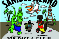 Sanibel Island 10K Race 4 F.I.S.H., October 18, 2014