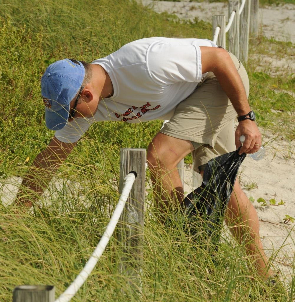 Sanibel & Captiva Coastal Cleanup, File Photo, Photo Credit - Coast Guard News