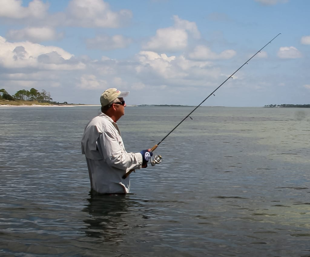 Top Wade Fishing Tips, Sanibel & Captiva Islands, Stan Kirkland, Photo Credit - MyFWCmedia.