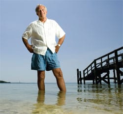 Porter Goss, A Leader Of Sanibel Incorporation, First Mayor Of Sanibel.  Photo Courtesy of PorterGoss.com & Gulfshore Life, 2007.
