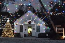 Captiva Island Chapel By The Sea, Holiday Lights 2, Courtesy Of Chapel By The Sea.