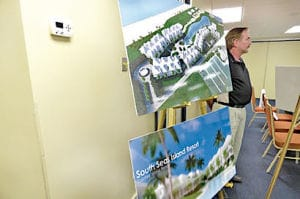 Captiva:  South Seas Island Resort plans in preliminary stages.  Photo Credit - Craig Garrett, Island Reporter.