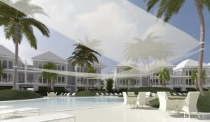 South Seas Resort, Captiva Island, Concept Plans, Pool Rendering 2.