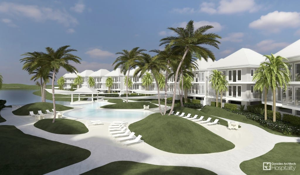 South Seas Resort, Captiva Island, Concept Plans, Pool Rendering.