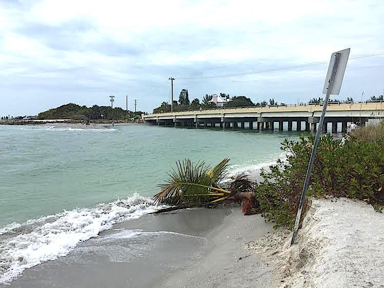 Blind Pass Beach Erosion, 2-17-15, Sanibel Rentals, Photos Courtesy Of City Of Sanibel.