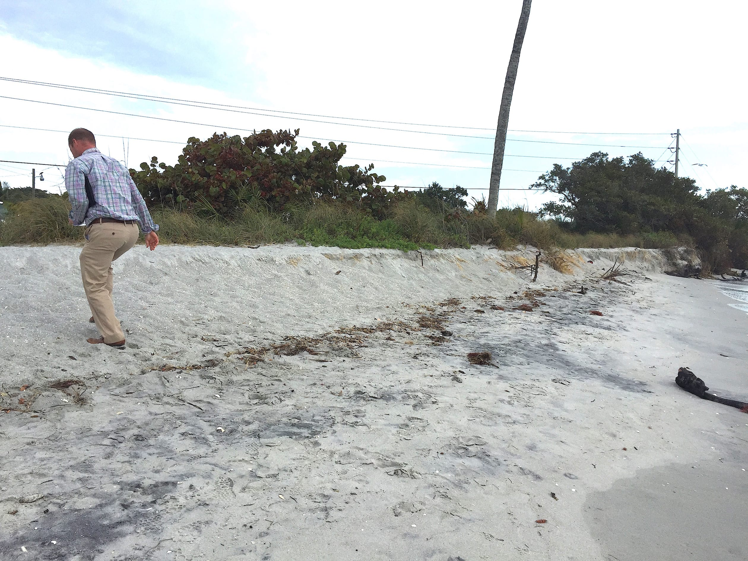 Blind Pass Beach Erosion #4, 2-17-15, Sanibel Rentals, Photos Courtesy Of City Of Sanibel.