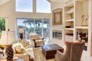 Escapade, Sanibel Rental, Living Room.