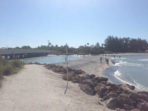 Sanibel Rentals, 3-29-15, Sanibel: Blind Pass Filling In 2, Nearly Closed To Navigation.