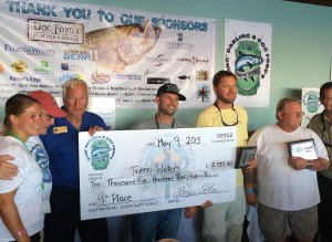 "'Tween Waters Team, 4th Place, 2015 ""Ding Darling"" & Doc Ford's Tarpon Tournament, 5-9-15."