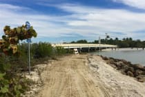 Turner Beach, Blind Pass Repairs, Looking Toward The Blind Pass Bridge, Sanibel & Captiva, Courtesy Of City Of Sanibel.
