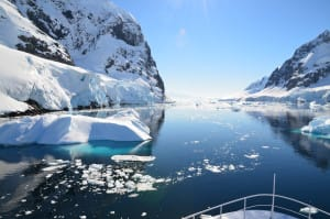 Antarctica File Photo, Via Creative Commons, anbuck01. Slow Sea Level Rise By Pumping Water Onto Antarctica?