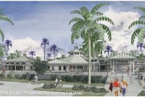 Center 4 Life Rendering, Down Sanibel Development, Civic Core Redevelopment Project. Courtesy Of City Of Sanibel.