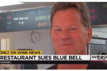 Schnappers Hots, a well-known Sanibel Island restaurant, is suing Blue Bell Ice Cream for hurting its business.