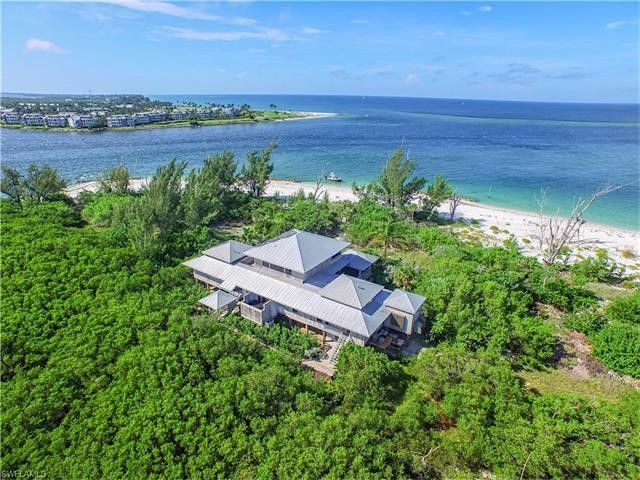 Herbert Kohler Jr. has listed his 4,400-square-foot Florida vacation home on exclusive North Captiva Island for sale for $5.7 million. Looking toward gulf. Photos courtesy of Realtor.com.