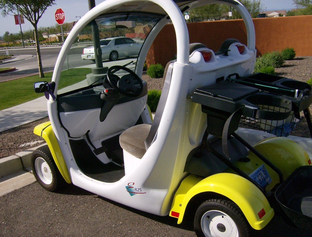 "Debate on Sanibel Golf Carts. Sanibel Planning Commission is scheduled to include consideration of an application for a conditional use permit allowing the establishment on Sanibel of a business that will rent up to fifteen ""low speed vehicles. Image Courtesy Of Creative Commons / Steve Farley."