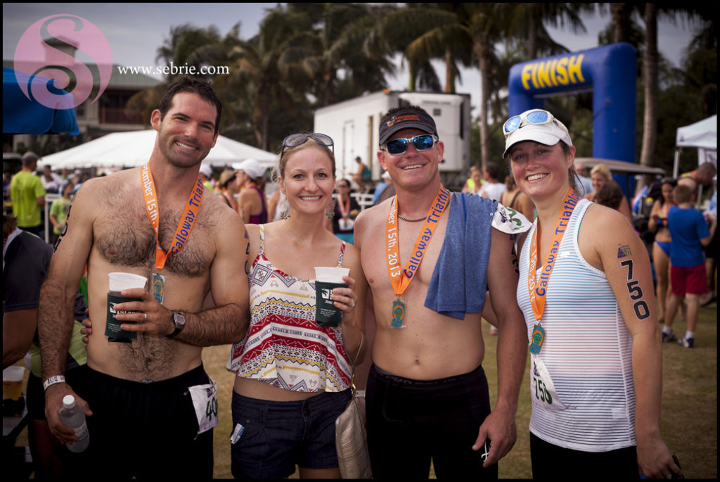 The Galloway Captiva Triathlon on Sunday, September 10, 2017, and is a sprint-length event. File photo courtesy of Sebrie.com.