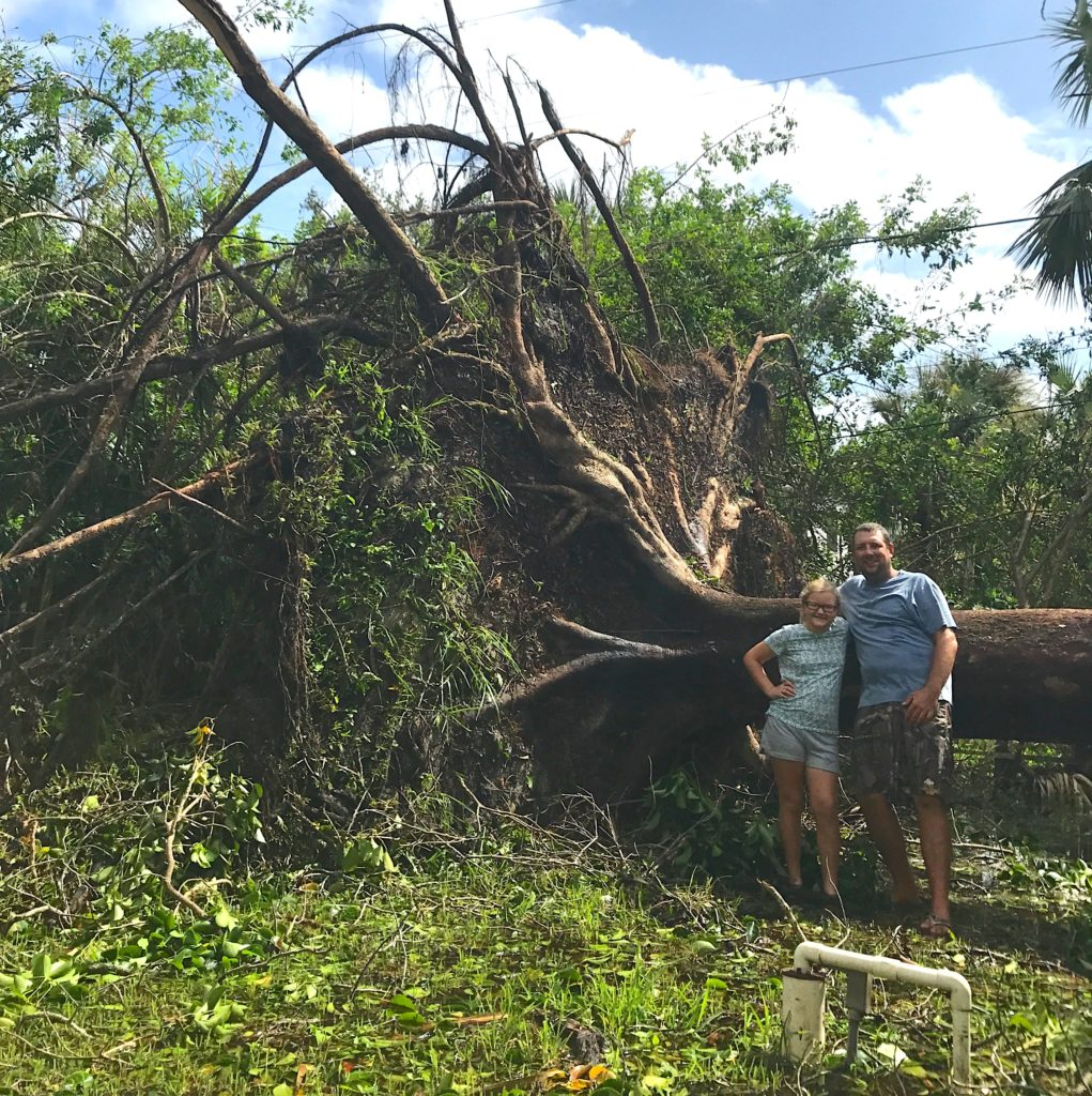 Hurricane Irma, Sanibel & Captiva Islands Cleanup, September 18, 2017.